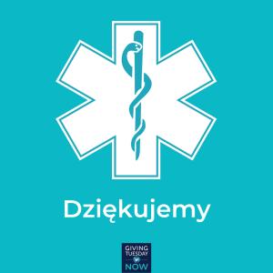 Facebook _ Instagram Dzie╠Ękujemy s┼éuz╠çbie zdrowia